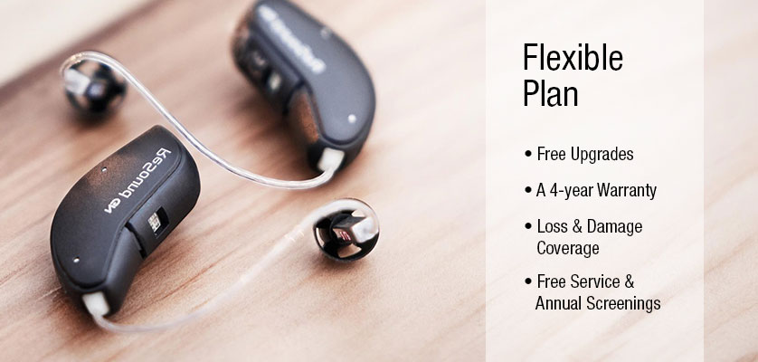 Lease Hearing Aids - Cleartone Hearing Centers