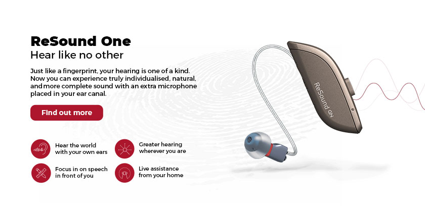 ReSound One Banner - Cleartone Hearing Centers